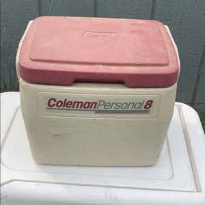 90s retro Coleman personal 6 pack cooler
